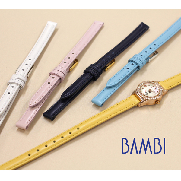 Watch Belt Band Calf Small Antique Watches For Bambi Las Bc031