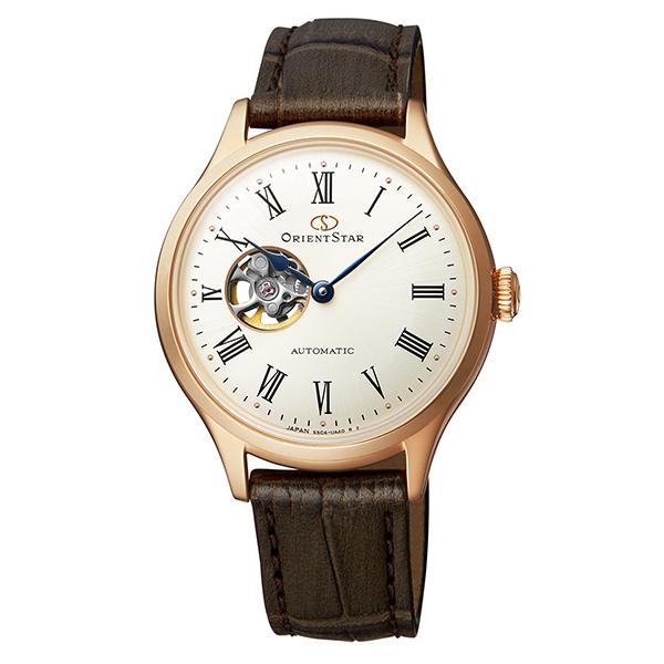 オリエントスター ORIENT STAR 腕時計 レディース 自動巻き 機械式 クラシック CLASSIC クラシックセミスケルトン RK-ND0003S 正規品