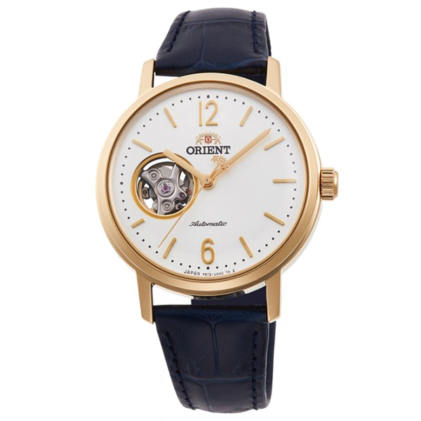 オリエント 腕時計 メンズ レディース 自動巻き 機械式 ORIENT クラシック CLASSIC セミスケルトン RN-AG0019S 正規品