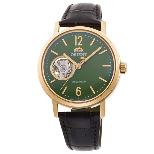 オリエント 腕時計 メンズ レディース 自動巻き 機械式 ORIENT クラシック CLASSIC セミスケルトン RN-AG0020E 正規品