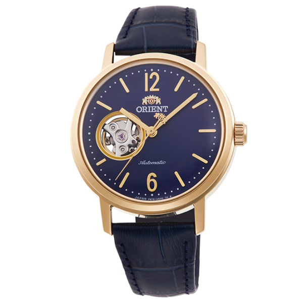 オリエント 腕時計 メンズ レディース 自動巻き 機械式 ORIENT クラシック CLASSIC セミスケルトン RN-AG0021L 正規品