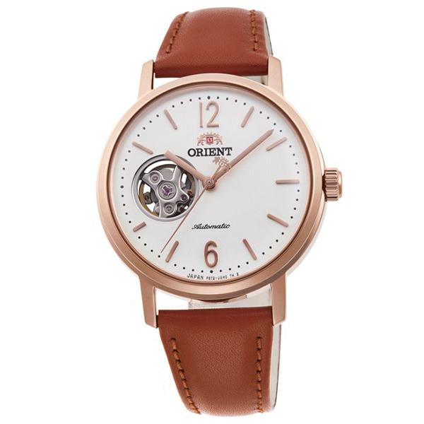 オリエント 腕時計 メンズ レディース 自動巻き 機械式 ORIENT クラシック CLASSIC セミスケルトン RN-AG0022S 正規品