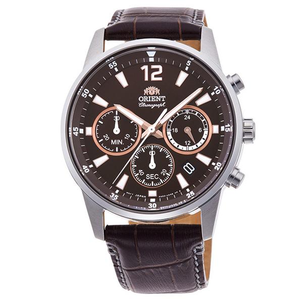 オリエント 腕時計 メンズ ORIENT スポーツ SPORTS クロノグラフ RN-KV0005Y