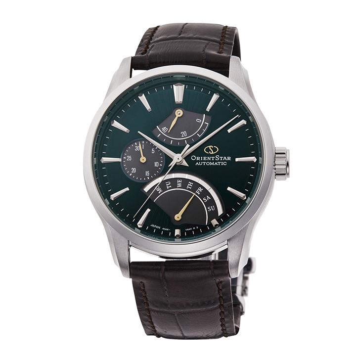 オリエントスター ORIENT STAR 腕時計 メンズ 自動巻き メカニカル コンテンポラリー CONTEMPORALY レトログラード RK-DE0302E 正規品