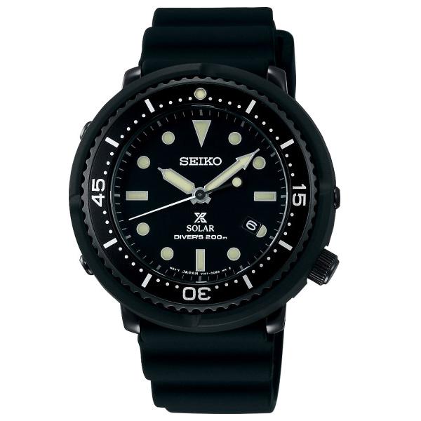 セイコー プロスペックス SEIKO PROSPEX ダイバースキューバ LOWERCASE プロデュース ソーラー 腕時計 メンズ レディース STBR025 正規品
