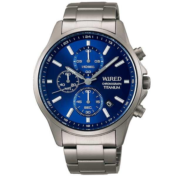 セイコー ワイアード SEIKO WIRED 腕時計 メンズ チタン クロノグラフ AGAT428 正規品