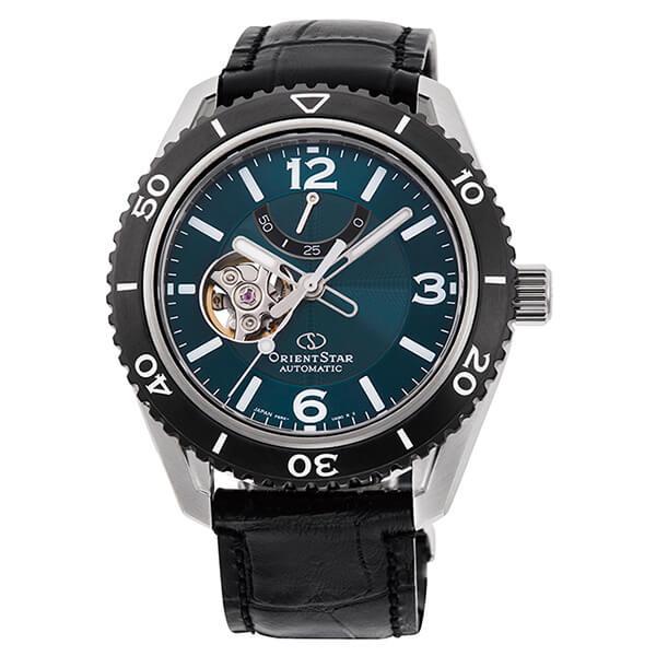 オリエントスター ORIENT STAR 腕時計 メンズ 自動巻き メカニカル スポーツ セミスケルトン RK-AT0104E
