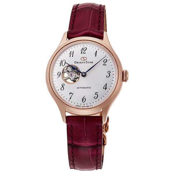 オリエントスター ORIENT STAR 腕時計 レディース 自動巻き メカニカル クラシック セミスケルトン RK-ND0006S