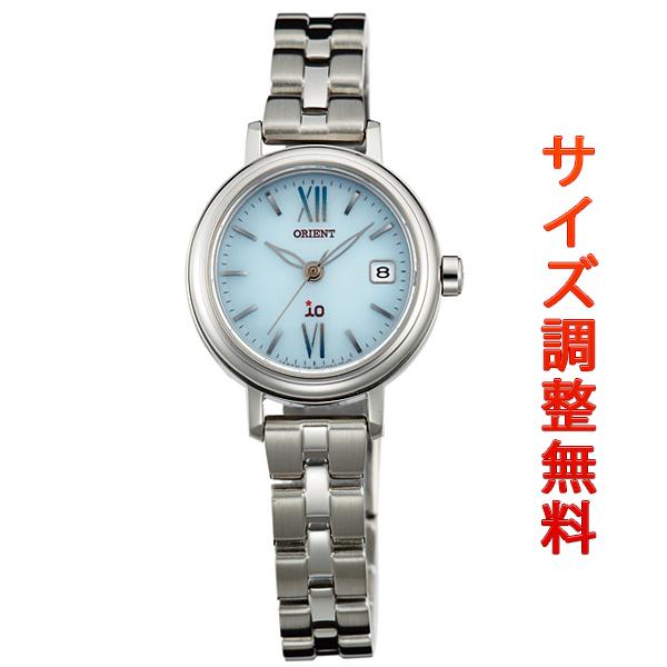 オリエント イオ ORIENT iO ソーラー 腕時計 レディース ナチュラル&プレイン WI0071WG