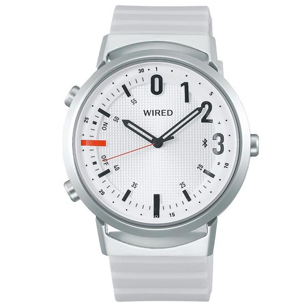 セイコー ワイアード WW ツーダブ Bluetooth メンズ レディース 腕時計 AGAB407 SEIKO WIRED TYPE 02 ホワイト 時計