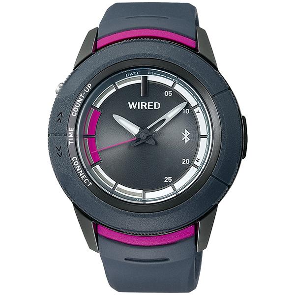 セイコー ワイアード ツーダブ SEIKO WIRED WW スマートウオッチ Bluetooth 腕時計 メンズ TYPE04 AGAB416