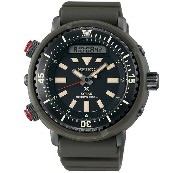 セイコー プロスペックス SEIKO PROSPEX ハイブリッド ダイバースキューバ ストリートシリーズ ソーラー 腕時計 メンズ SBEQ009