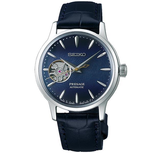 セイコー プレザージュ SEIKO PRESAGE 自動巻き メカニカル 腕時計 レディース ベーシックライン カクテルタイム SRRY035