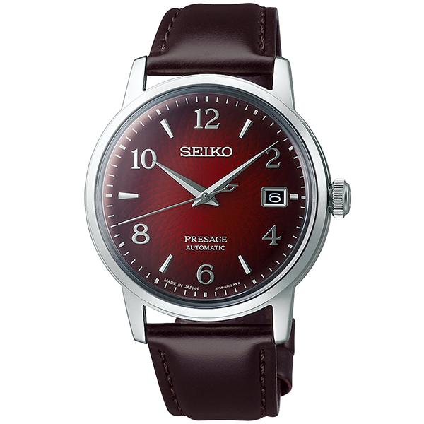 セイコー プレザージュ SEIKO PRESAGE 自動巻き メカニカル 腕時計 メンズ ベーシックライン カクテルタイム SARY163