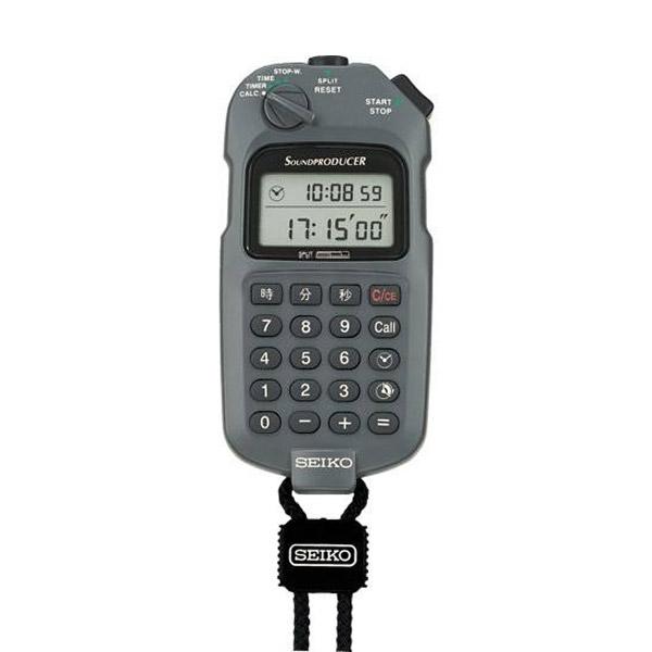 送料無料 安い 激安 プチプラ 高品質 お取り寄せ商品 半額 セイコー ストップウォッチ SEIKO WATCH SVAX001 グレー サウンドプロデューサー STOP
