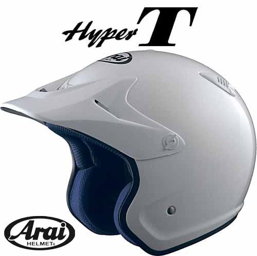 ☆【あす楽対応】【ARAI】HYPER-T ホワイト トライアル トライヤル オフロード ハイパーティー ハイパー-ティー ハイパーT ハイパー-T ハイパートライアルヘルメット アライ アライヘルメット 小さいサイズ 大きいサイズ JIS規格 ジス規格【バイク用品】
