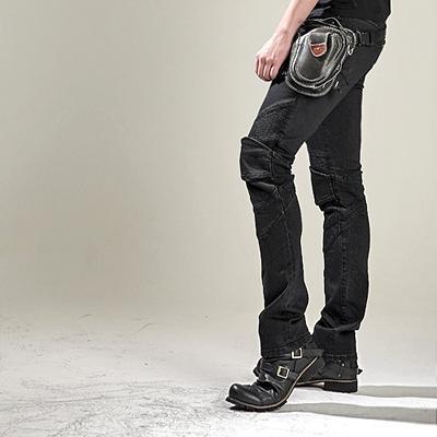 ☆【ROUGH&ROAD】ラフ&ロード uglyBROS  UB0002 ブラック MOTOPANTS FEATHERBED【Men's】 【バイク用品】