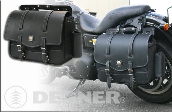 ☆ DEGNER デグナー NB-10 ナイロンサドルバッグ カラー ブラック 【smtb-k】 【バイク用品】