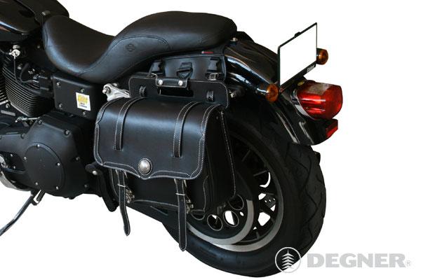 ☆ DEGNER デグナー SB-30 サドルバッグ カラー ブラック 【smtb-k】 【バイク用品】