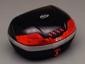 ☆【GIVI】6368046Ltype V46シリーズ ジビ (ストップランプなし)ハードケース カラー パールブラック塗装 リアボックス リアキャリア パニアケース リアケース トップケース 【バイク用品 リアボックス】