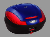 ☆GIVI ジビ6805547Ltype E470シリーズ(ストップランプなし)ハードケース カラー ブルー塗装  リアボックス リアキャリア パニアケース リアケース トップケース 【バイク用品 リアボックス】