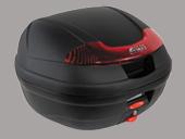 ☆GIVI ジビ6678834Ltype E340 VISIONシリーズ(ストップランプなし)ハードケース カラー 未塗装ブラック  リアボックス リアキャリア パニアケース リアケース トップケース 【バイク用品 リアボックス】