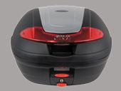 ☆GIVI ジビ6678934Ltype E340 VISIONシリーズ(ストップランプなし)ハードケース カラー シルバー塗装  リアボックス リアキャリア パニアケース リアケース トップケース 【バイク用品 リアボックス】