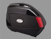☆GIVI ジビ6806935Ltype V35シリーズ(左右1セット)サイドケース カラー ブラック塗装  リアボックス リアキャリア パニアケース リアケース トップケース 【バイク用品 リアボックス パニアケース】