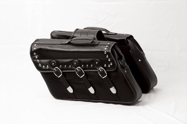 ☆K+DIVISION ケープラスディビィジョン TOURING BAG ツーリングバッグ サイドバッグ左右(振り分けタイプ) 35L 45×30×13 ブラック P012-3536【バイク用品】