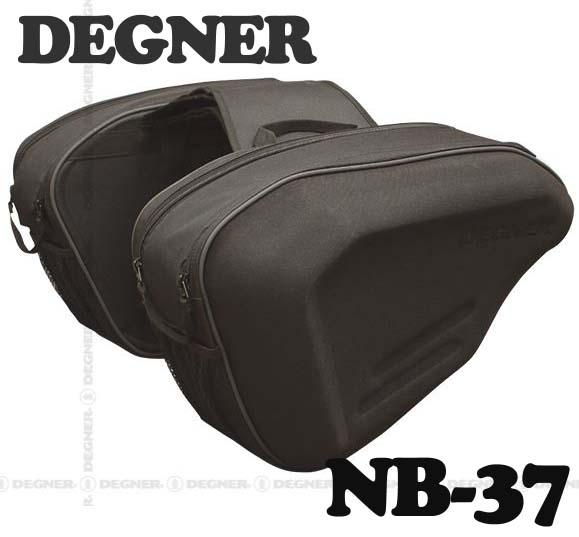 ☆【DEGNER】NB-37スポーツダブルバッグ SPORTS DOBULE BAG アメリカン スーパースポーツ 汎用 ツーリング キャンプ 鞄 デグナー【バイク用品】