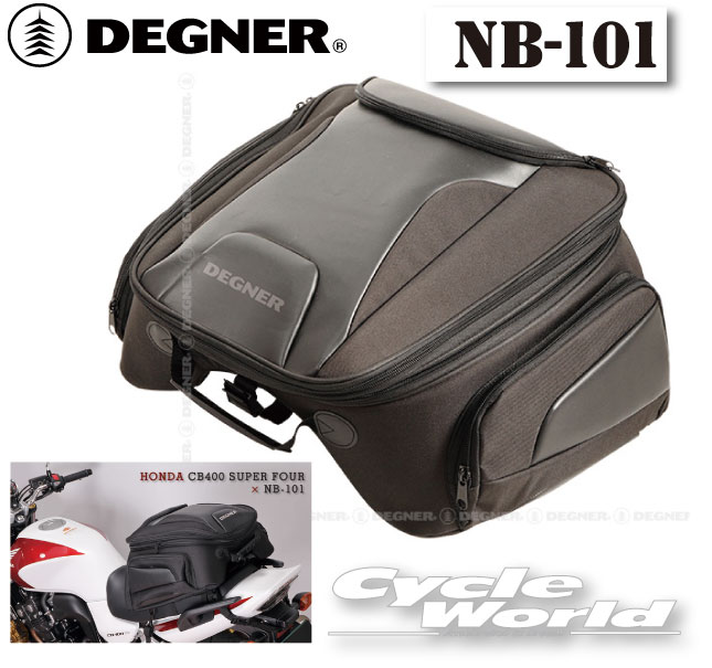 ☆【DEGNER】 デグナー NB-101 アジャスターシートバッグ   ツーリングバッグ スポーツバッグ 【smtb-k】 【バイク用品】