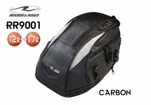 ☆【ROUGH&ROAD】RR9001 SSテールバッグ 《カーボン》【容量】12リットル~17リットル ラフ&ロード【バイク用品】