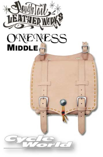 ☆【Rough Tail】ワンネス サドルバッグ M《ミドルサイズ》 ONENESS SADDLE BAG SMALL SIZEカラーオーダー メディスンバッグ アメリカン ラフテール Harley‐Davidson Made in Japan【smtb-k】【バイク用品】