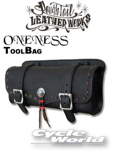 ☆【Rough Tail】ワンネス ツールバッグ ONENESS TOOL BAG カラーオーダー  アメリカン ラフテール サドルバッグ Harley‐Davidson Made in Japan【smtb-k】【バイク用品】