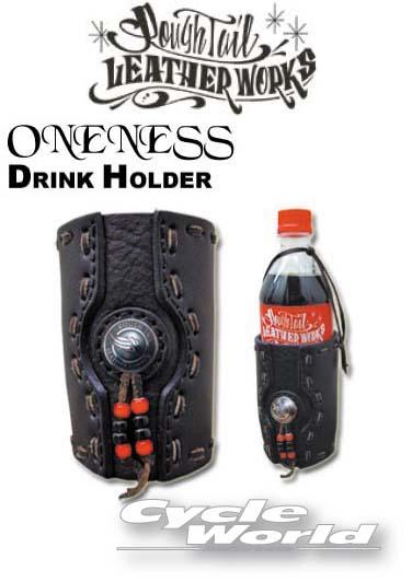 ☆【Rough Tail】ワンネス ドリンクホルダー ONENESS DRINK HOLDER カラーオーダー アメリカン ラフテール サドルバッグ Harley‐Davidson Made in Japan【smtb-k】 【バイク用品】