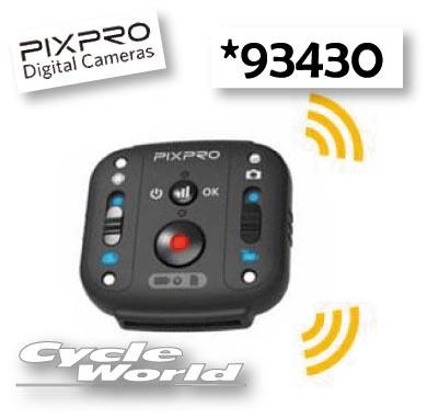 ☆【Kodak】アクションカメラ PIXPRO SP360 4K用  〔リストリモコン〕(93430) ツーリング カメラ モトクロス オフロード 口角 369度 撮影 ビデオ【バイク用品】