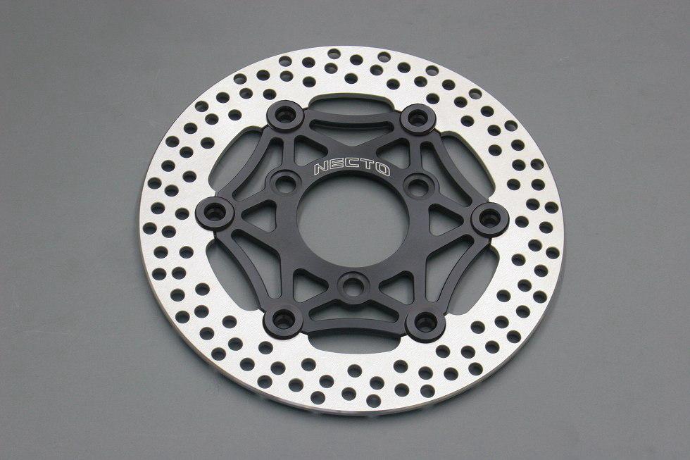 ☆【NECTO】ネクト レーシングディスクローター (Φ220) インナーブラック、ピンブラック 【バイク用品】