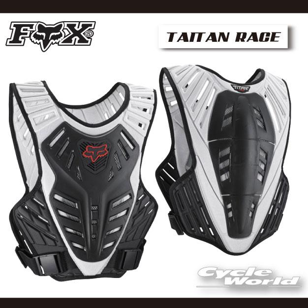 ☆【FOX】タイタンサブフレーム レースプロテクター  フォックス 【バイク用品】