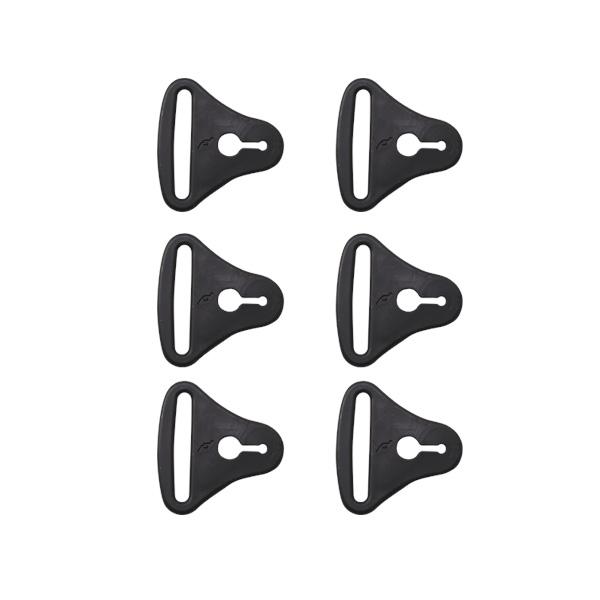 ☆ ☆【POD MX】ストラップループ K8/K300(6個) 補修部品 膝 ひざ ピーオーディーエムエックス 【バイク用品】