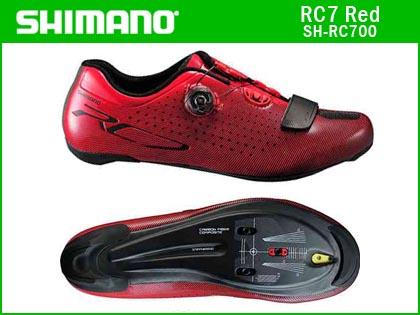 【送料無料】【SHIMANO】(シマノ)RC7(SH-RC700){レッド}ロードシューズ【フットウェア】【サイズ交換不可品】 RC-7 4524667084037