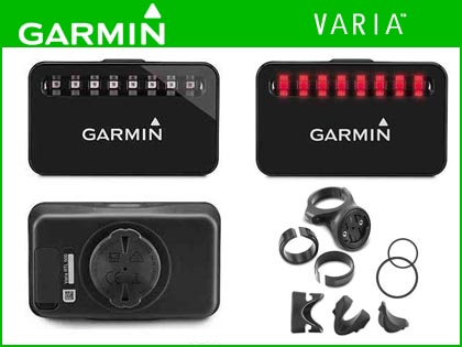 【GARMIN】(ガーミン)VARIA-J リアビューレーダー単体【リアビューレーダー/テールライト】(自転車)004406