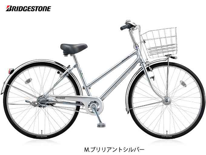 "【BRIDGESTONE】(ブリジストン)キャスロング DX S型 26""(チェーン)CDS63P シティーサイクル【シティーサイクル】【自転車 完成車】【日時指定・代引き不可】"