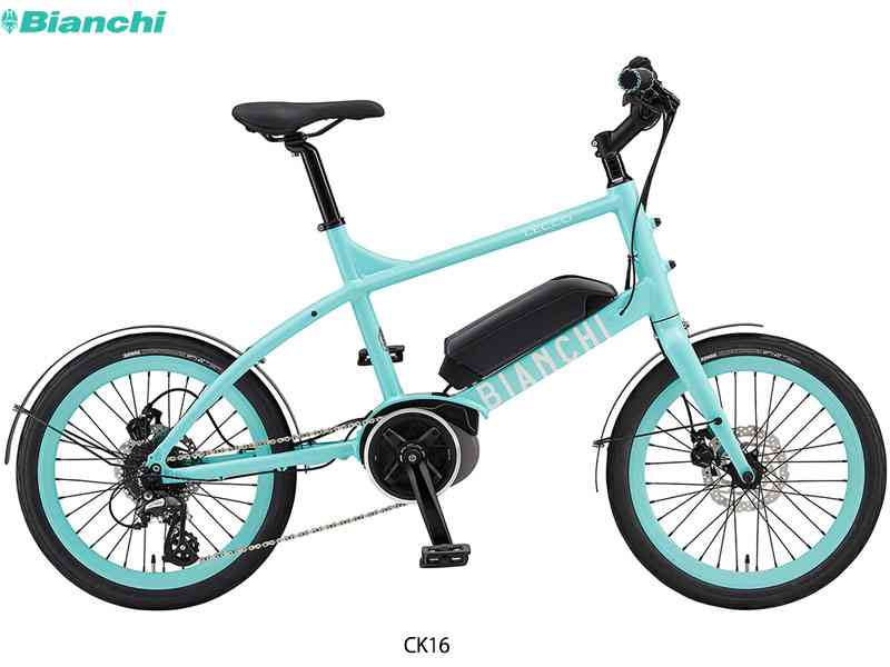 "【BIANCHI】(ビアンキ)2019 LECCO-E 電動アシストミニベロ20"" E-BIKE(自転車)4580058491938"
