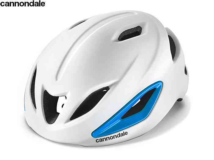 (送料無料)【CANNONDALE】(キャノンデール)CH4209U INTAKE インテイク MIPS(ホワイト/ブルー)ヘルメット(自転車)0884603746455