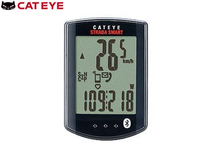 (送料無料)【CATEYE】(キャットアイ)CC-RD500B ストラーダスマート ワイヤレスコンピュータ(スピード/ケイデンスセット)【サイクルコンピューター】【サイコン】(自転車) 4990173026135 RD-500B