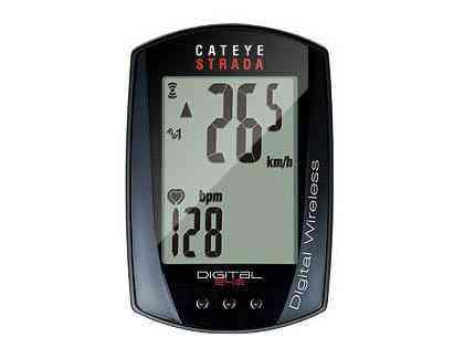 【送料無料】【CATEYE】(キャットアイ)CC-RD420DW ストラーダデジタルワイヤレスコンピューター(心拍センサー付)【サイクルコンピューター】【自転車 アクセサリー】 4990173024032