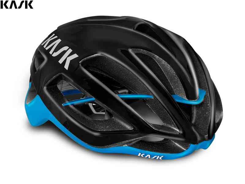 (送料無料)【KASK】(カスク)PROTONE <ブラック/ライトブルー> ロードヘルメット【ヘルメット】(自転車)