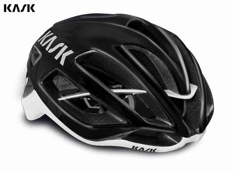 【送料無料】【KASK】(カスク)PROTONE <ブラック/ホワイト> ロードヘルメット【ヘルメット】【自転車 アクセサリー】【サイズ交換不可】