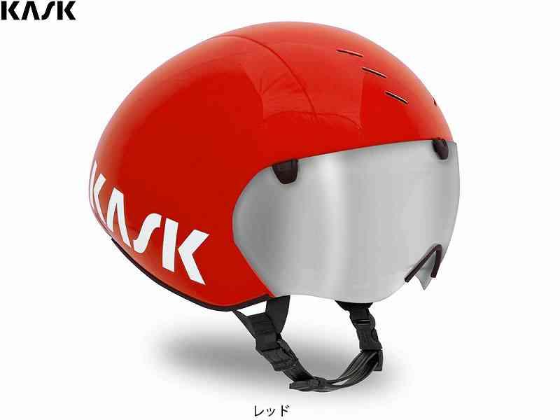 【送料無料】【KASK】(カスク)BAMBINO PRO <レッド> TTヘルメット【自転車 アクセサリー】【サイズ交換不可】8057099046053