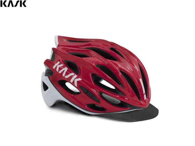 (送料無料)【KASK】(カスク)MOJITO X PEAK <レッド/ホワイト> ヘルメット(自転車)8057099130127